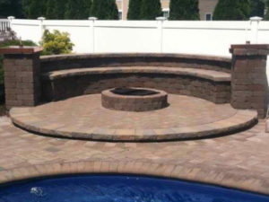 fire pit focal point