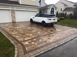 sweet driveway with diamond